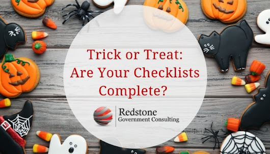 Trick or Treat: Are Your Checklists Complete?