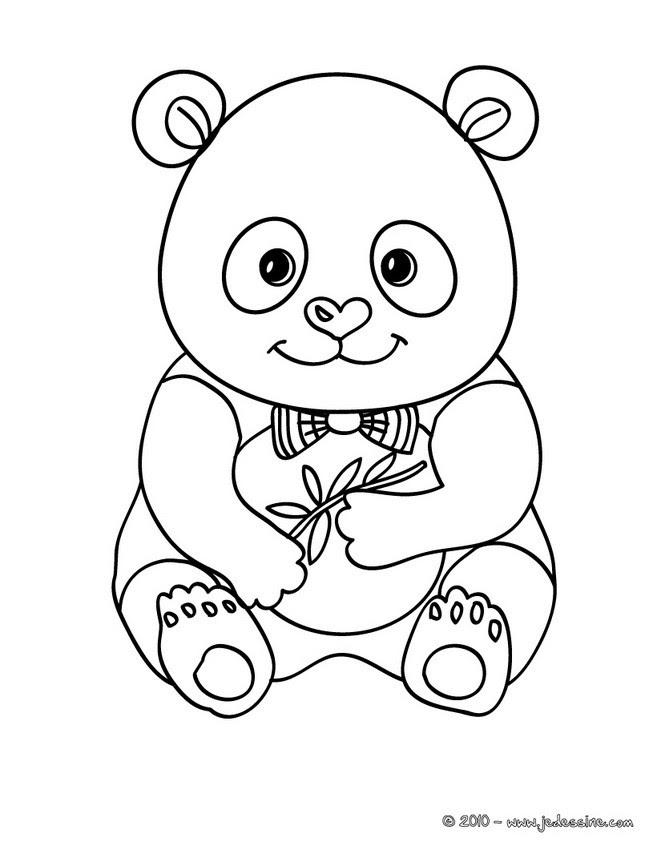 Coloriages De Pandas Coloriages Coloriage à Imprimer Gratuit