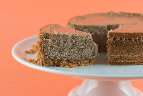 Low and Luscious Chocolate Cheesecake - TWD