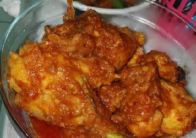 Cara Termudah Untuk Persiapan Lezat Rendang ayam praktis Cara Bunda Judith Recipe