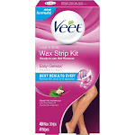 Veet Ready-To-Use Wax Strips and Wipes - 40ct