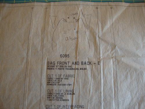 New Look  view E: cat bag.