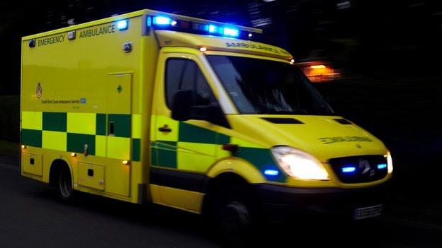 Blue light ambulance