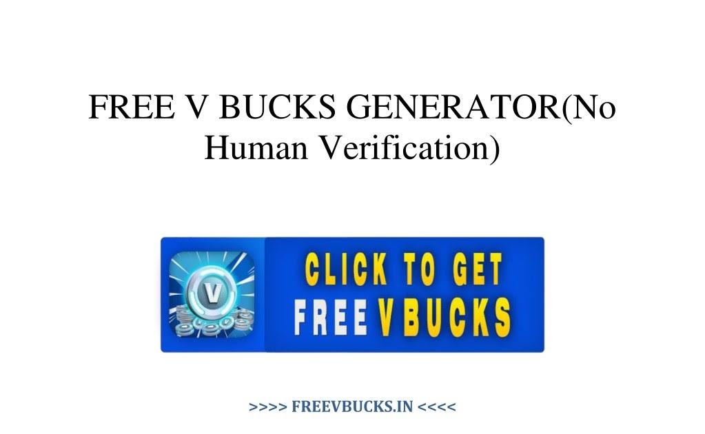 Free V Bucks Codes Ps4 No Human Verification | Fortnite