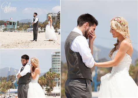 gilmore studios los angeles wedding photo beach wedding