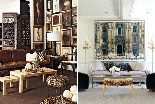 Leopard Print Living Room Decor – Modern House