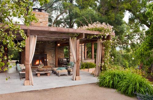 Dressel Pool Pavilion, Woodside, CA