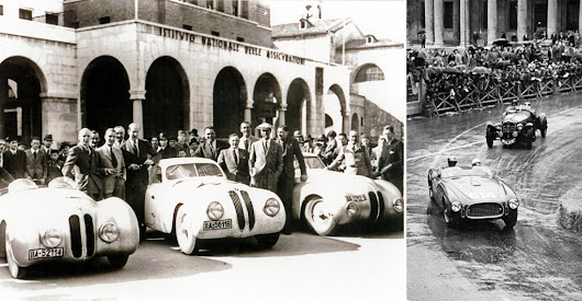 La Cuerba at the Italian Mille Miglia - La Cuerba