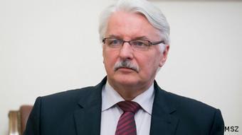 Polens Außenminister Witold Waszczykowski (Foto: DW)