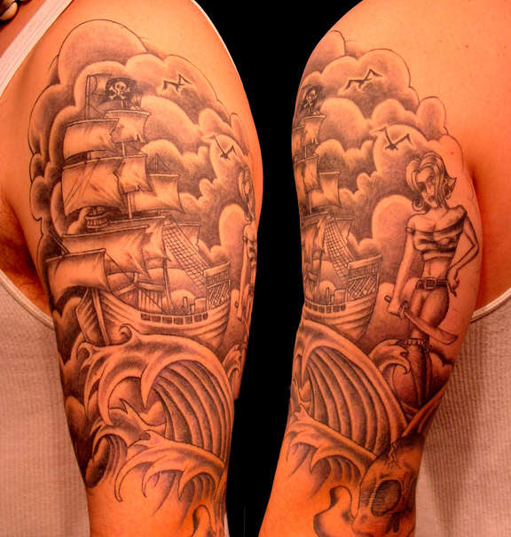 I commissioned my man Ollie Munden aka MEGAMUNDEN to design me a new tattoo,