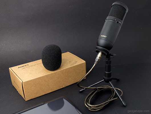 AUKEY MI-U2 - A Low-cost High-Quality USB Condenser Microphone