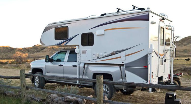 New Us Overhead Camper Shells Truck Campers Slide In Slide ...
