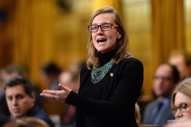 La nouvelle ministre fédérale des Institutions démocratiques, Karina Gould.... (Photo Sean Kilpatrick, Archives La Presse Canadienne)