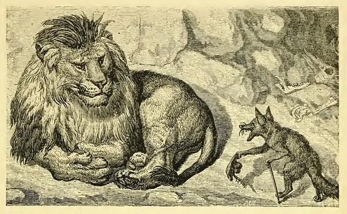 Vulpes et Leo (De Familiaritate)