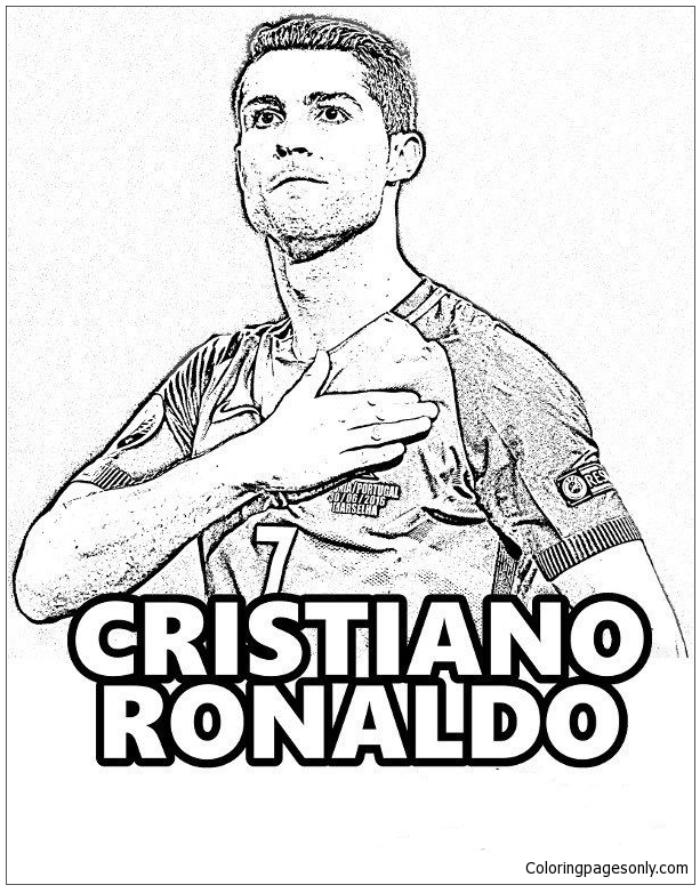 Disegni Da Colorare Di Ronaldo Stampae Colorare