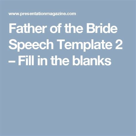 father  bride speech ideas  pinterest