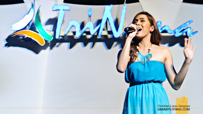Nikki Gil at Trinoma's Merry Musical Lights