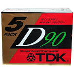 TDK Dynamic Performance D90 High Output IEC I / Type I - 5 Pack Audio Cassette Tapes - Unlimited Cellular