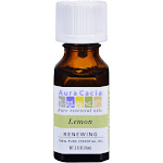 Aura Cacia Essential Oil, 100% Pure, Lemon - 0.5 fl oz