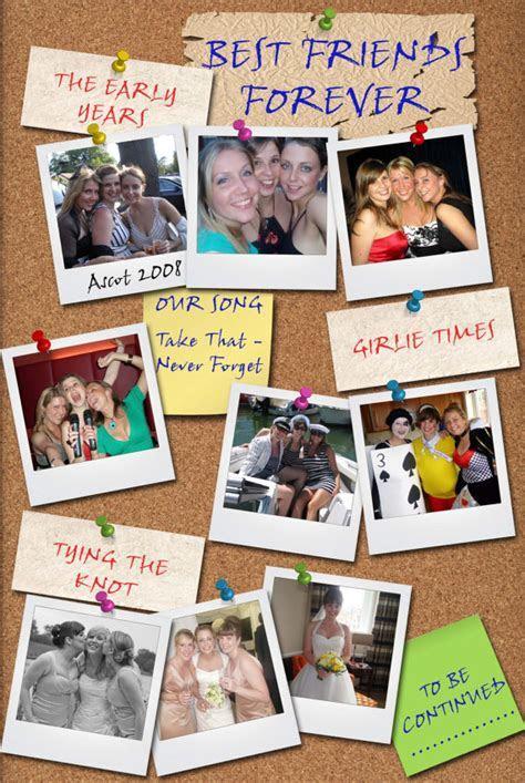 Best Friends Forever Personalised Print   Birthday Wedding