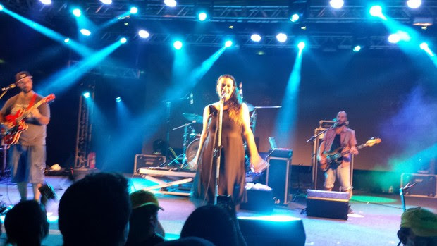 Tulipa Ruiz no Festival de Verão 2015 (Foto: Eudes Benício / Divulgação)
