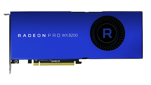 AMD launched Radeon Pro WX 8200 workstation graphics card at $999
