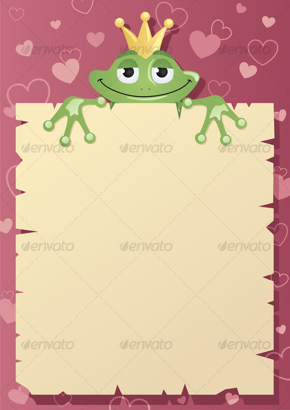 love letter background. holding a love letter to