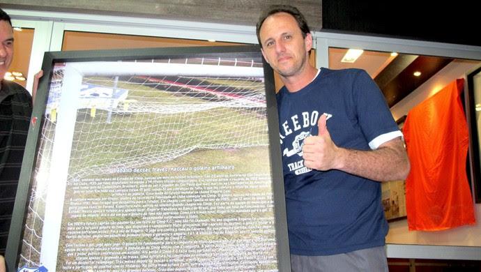 Sinop em festa: Rogério Ceni volta ao campo em partida beneficente (Foto: Carolina Elustondo / Globoesporte.com)