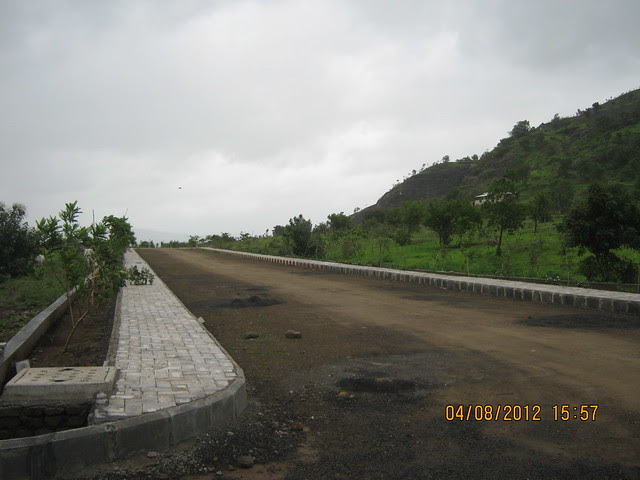 Internal Road of Silicon City Plots - Visit Xrbia - Nere Dattawadi, on Marunji Road, approx 7 kms from KPIT Cummins at Hinjewadi IT Park - 159