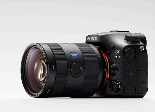 Sony A99II Hands On | The A99II AF Could Be In The Same League As The Nikon D5 & Canon 1DX Mark II