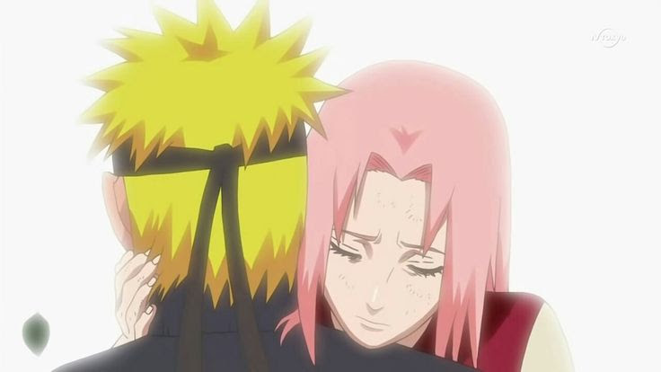 Gambar Sakura dan Naruto