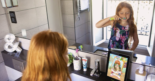 Augmented reality used in new Colgate kids' toothbrush