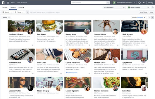 Facebook Announces 'Brand Collabs Manager' Platform to Connect Influencers with Brands