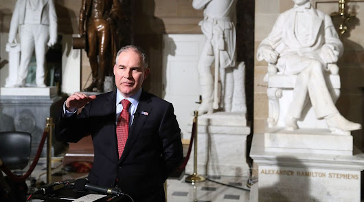 Scott Pruitt denies basic climate science. But most of the outrage is missing the point.