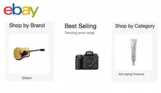 New Browsing Modules Leverage eBay's Structured Data to Better Serve Online Shoppers - eBay Inc.