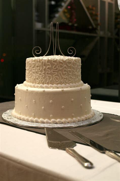 25th Anniversary Cake   simple buttercream. Add silver