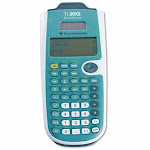 Texas Instruments - Scientific Calculator - Blue