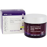 Andalou Naturals AgeDefying Enzyme Face Mask Bioactive 8 Berry 1.7 oz.