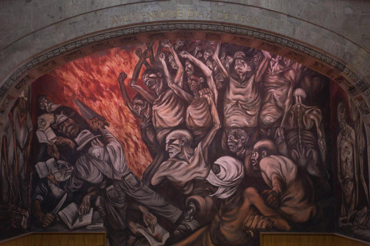 Mural El Hombre Creador Y Rebelde
