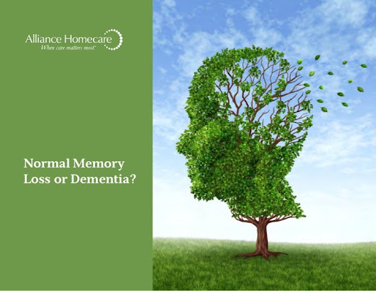 Normal Memory Loss or Dementia?