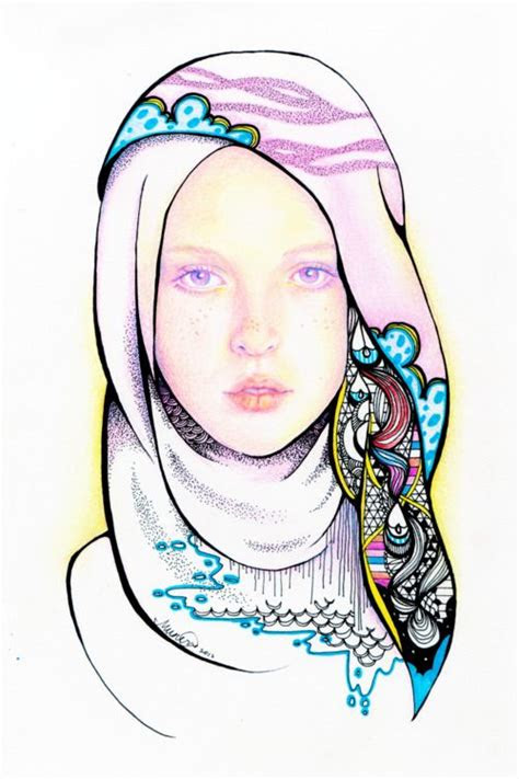 love  hijab dessinscroquisislam
