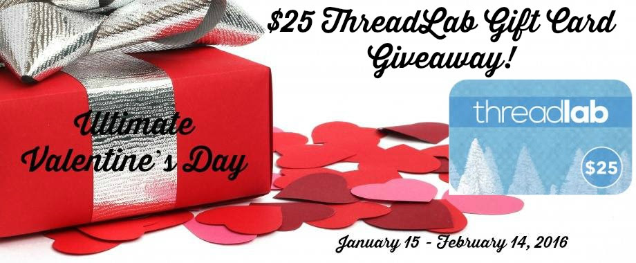 Enter the $25 Thread Lab Gift Card Giveaway! Ends 2/14