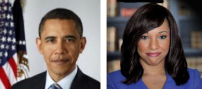Barack Obama / Stefani Carter