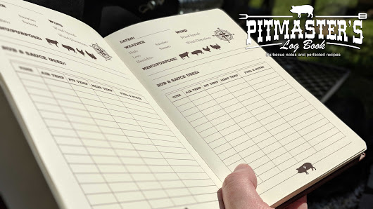 Pitmaster's Barbecue Log Book