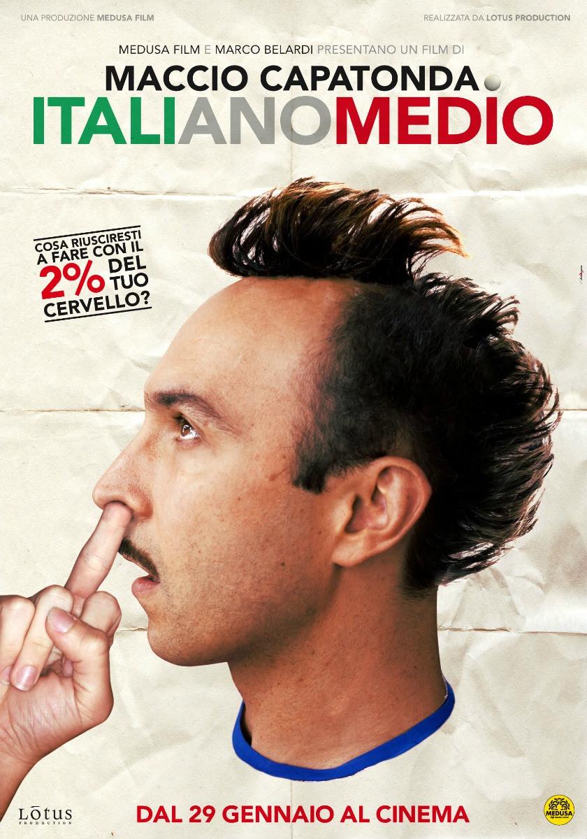 Risultati immagini per italiano medio poster