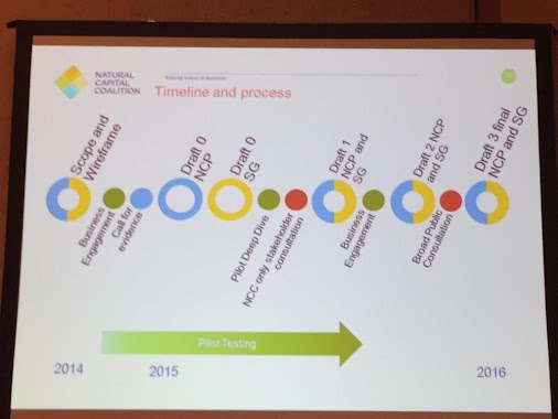 RT @RichMattison: #RBFSingapore @NatCapCoalition timeline for natural capital protocol - 200 companies...