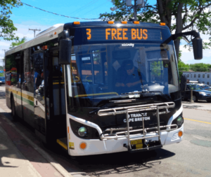 The free transit experiment in Cape Breton showed the huge possibilities of mass transit if fares are eliminated.