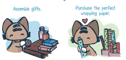Comic: How to Wrap Presents