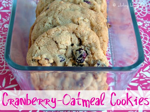 Cranberry-Oatmeal Cookies