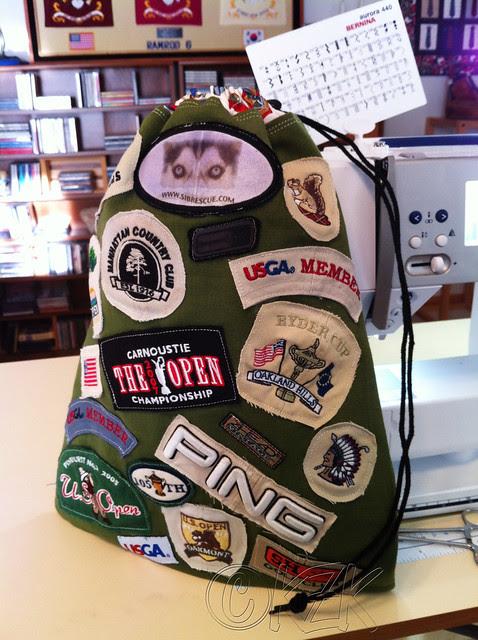 IMG_5006 Golf ball bag